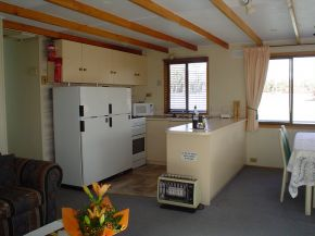 Osprey Houseboat Kitchen